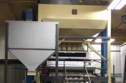 COLOR SORTER INSTALLED IN SEED CONDITIONING FACILITY