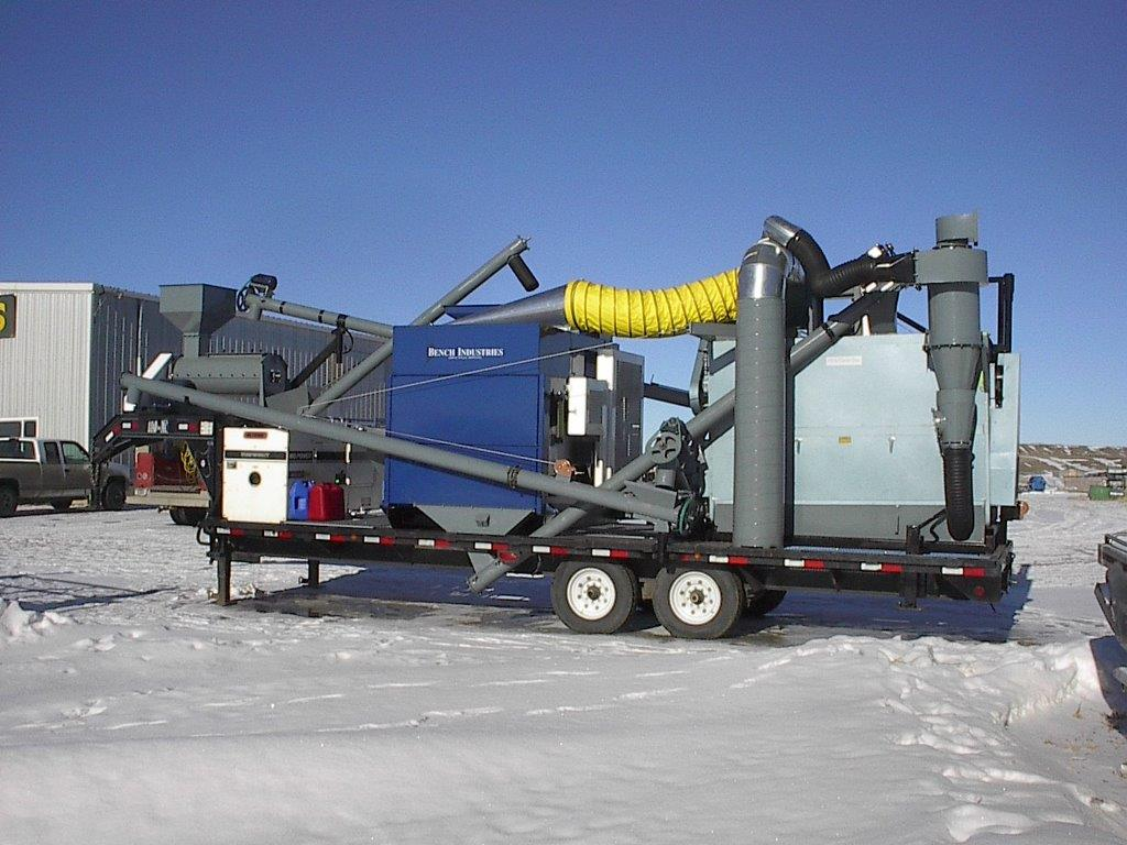 Portable Feed Mill : Seed and grain cleaning equipment feed milling